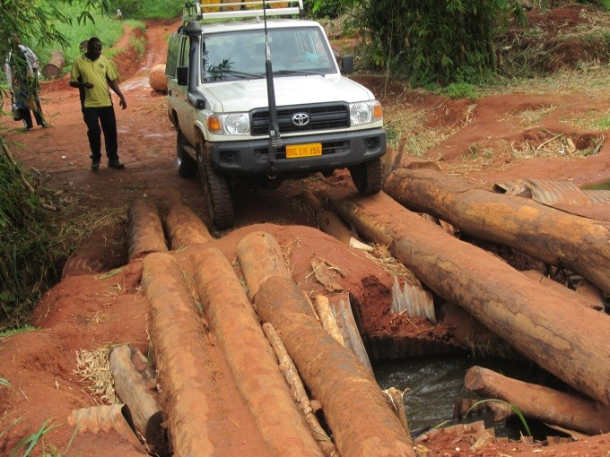 A road in DRC. Photo: Unicef