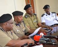 Police chiefs address media